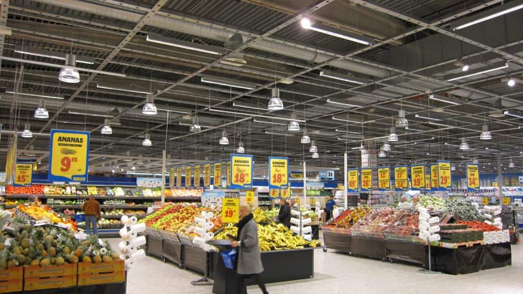 High Level Supermarket Lighting Light4u
