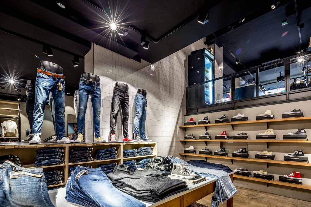 Jeans in de spotlights