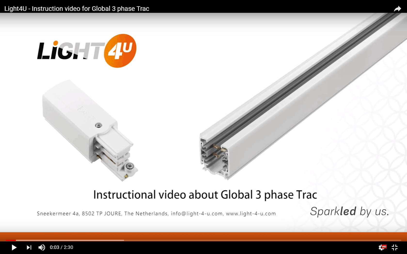 Instruction Video For Global Trac