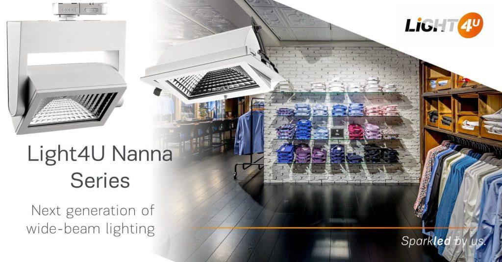 LED spotlight downlight wide beam