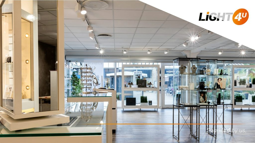 Instore lighting